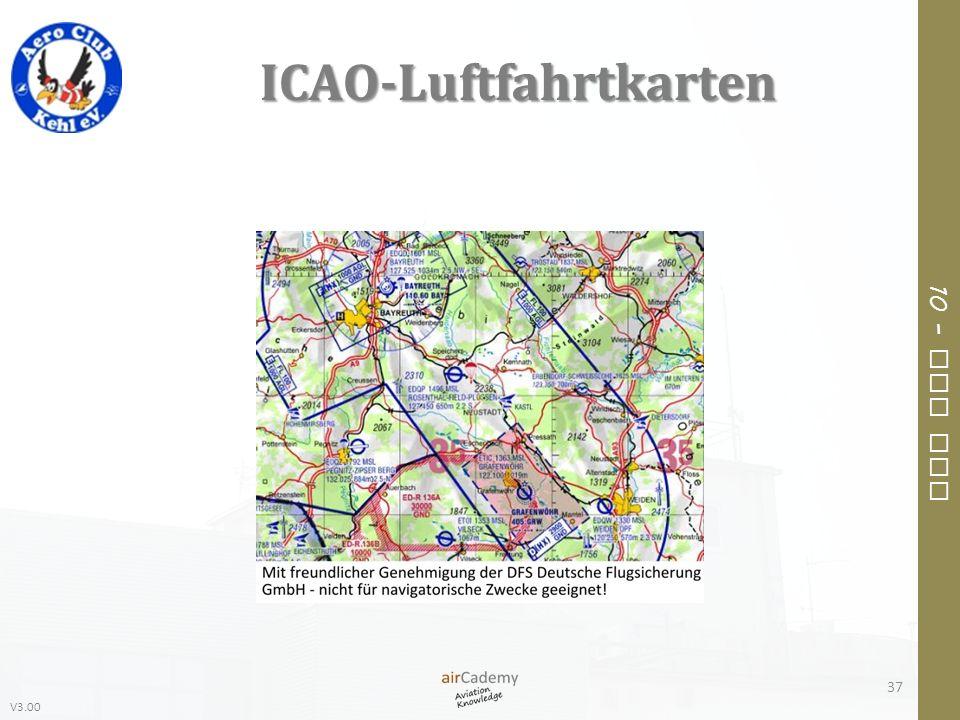 V3.00 10 – Air Law ICAO-Luftfahrtkarten 37
