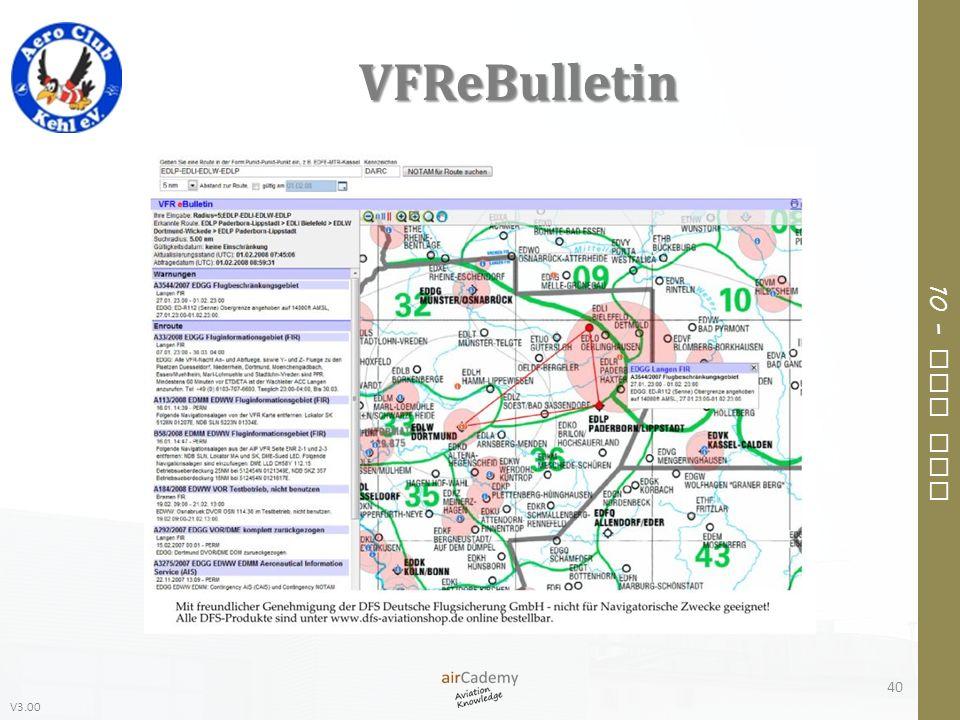 V3.00 10 – Air Law VFReBulletin 40