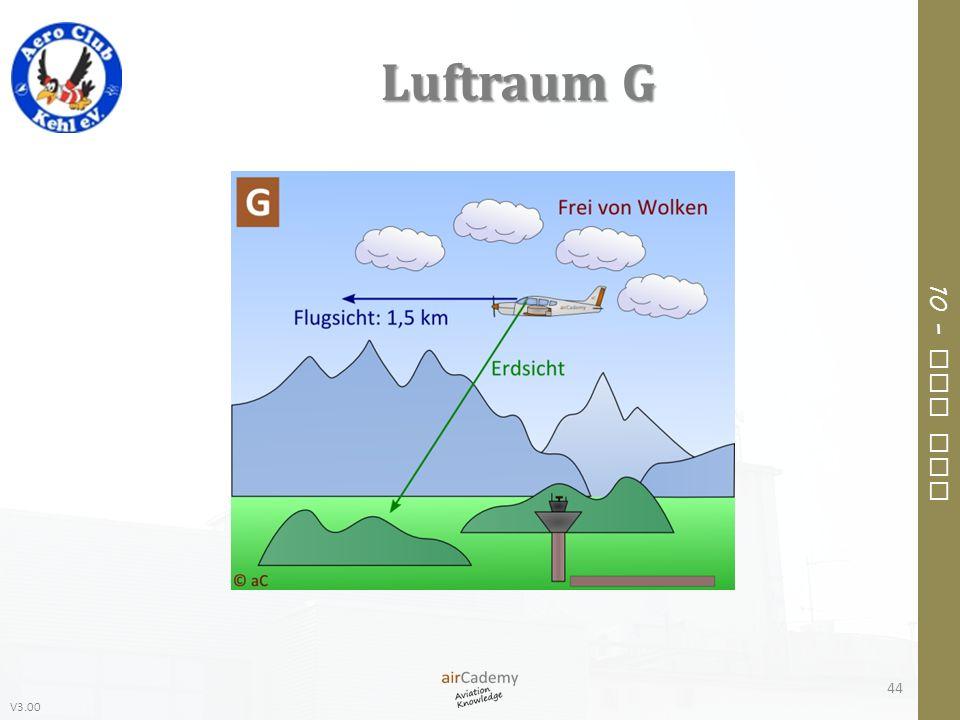 V3.00 10 – Air Law Luftraum G 44