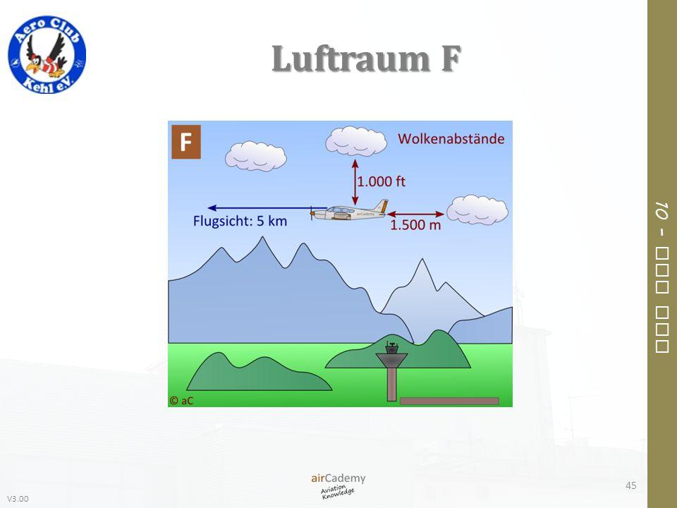 V3.00 10 – Air Law Luftraum F 45