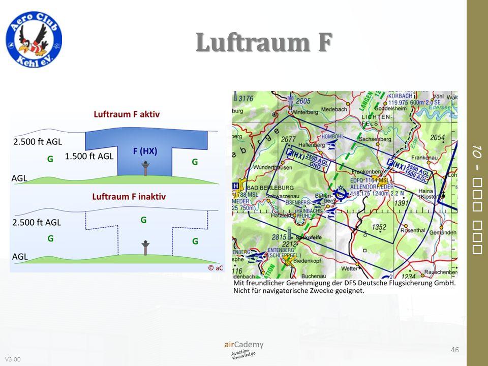 V3.00 10 – Air Law Luftraum F 46