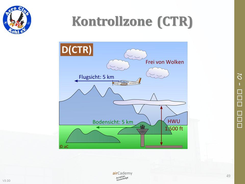 V3.00 10 – Air Law Kontrollzone (CTR) 49