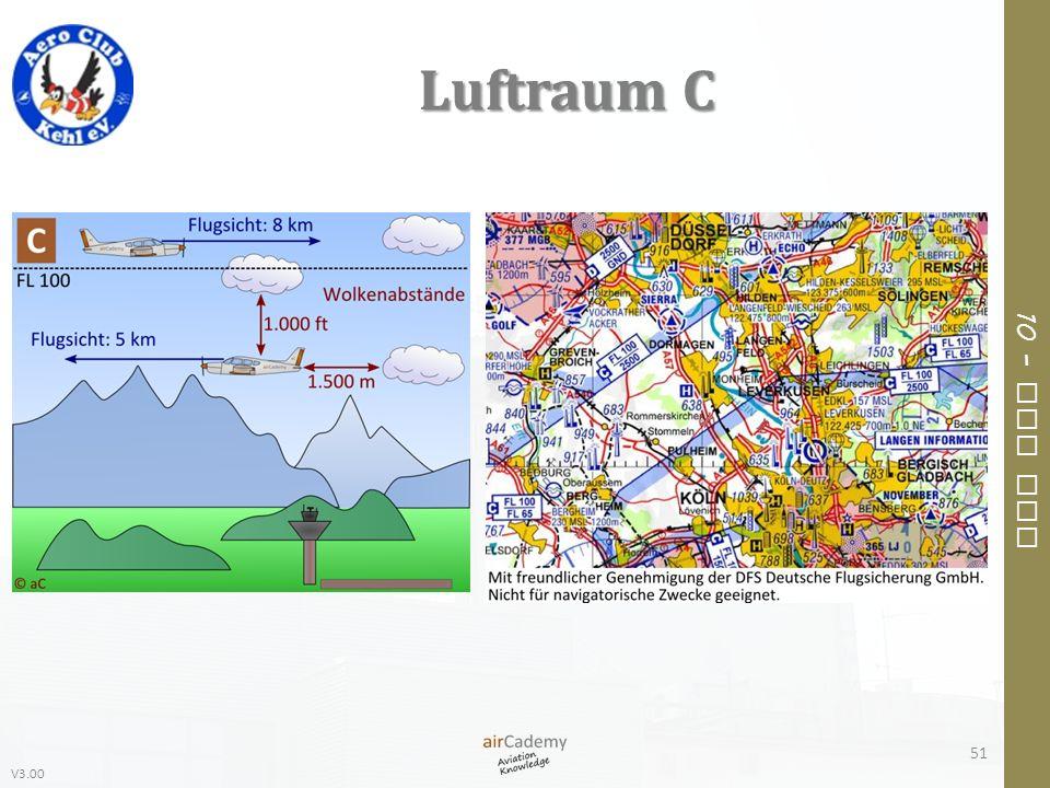 V3.00 10 – Air Law Luftraum C 51