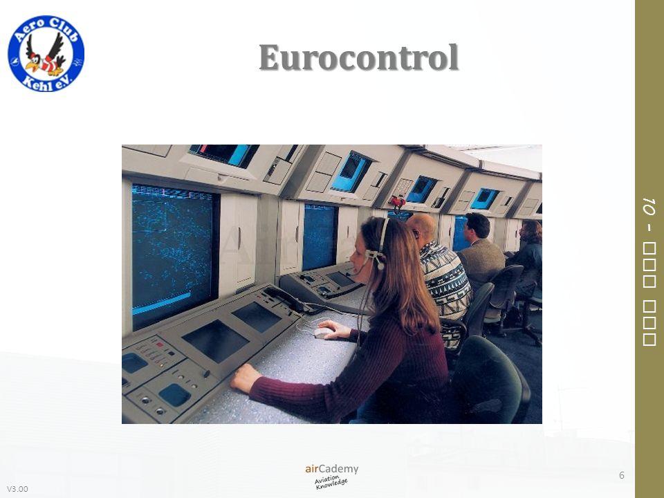 V3.00 10 – Air Law Eurocontrol 6