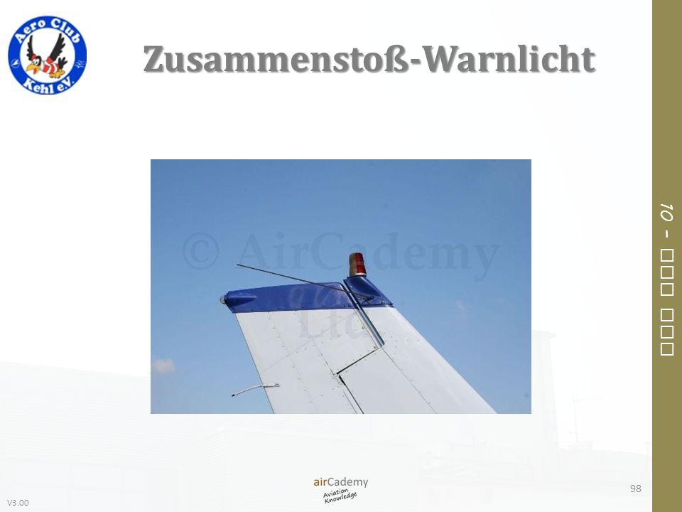 V3.00 10 – Air Law Zusammenstoß-Warnlicht 98