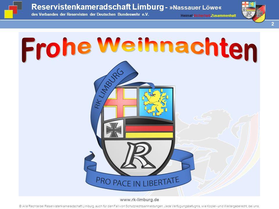 Reservistenkameradschaft Limburg - Nassauer Löwe im Verband der Reservisten der Deutschen Bundeswehr e.V.