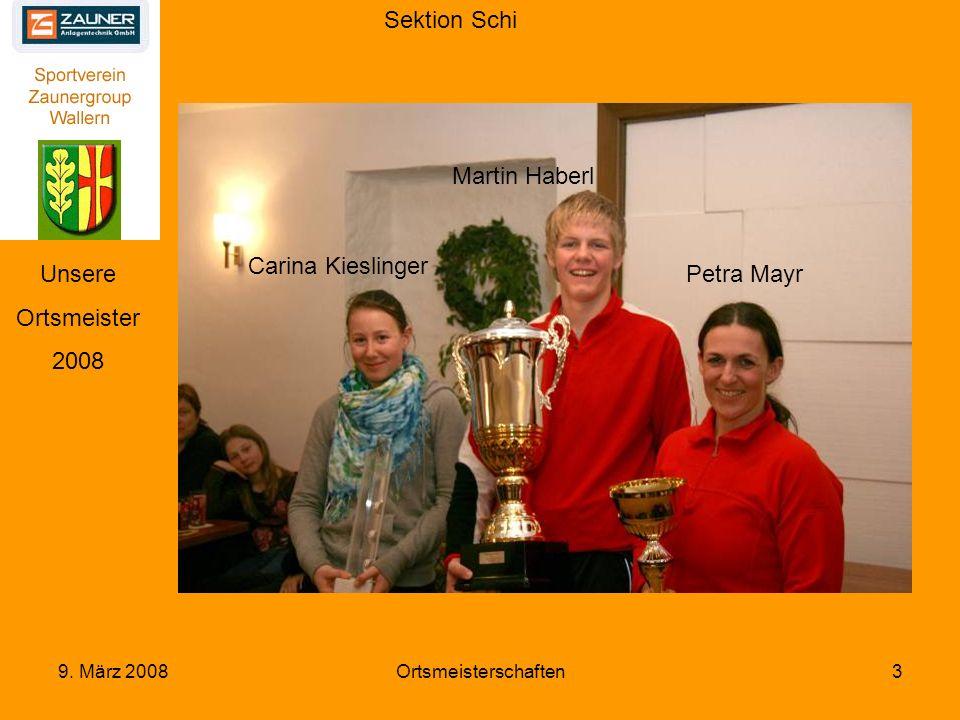 Sektion Schi 9. März 2008Ortsmeisterschaften4 Siegerfoto Schi Herren AK I