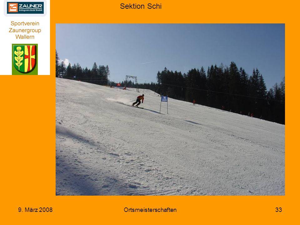 Sektion Schi 9. März 2008Ortsmeisterschaften33