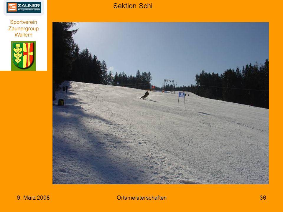 Sektion Schi 9. März 2008Ortsmeisterschaften36