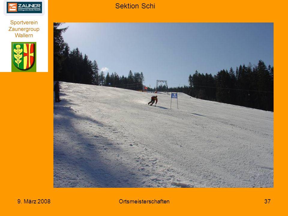 Sektion Schi 9. März 2008Ortsmeisterschaften37