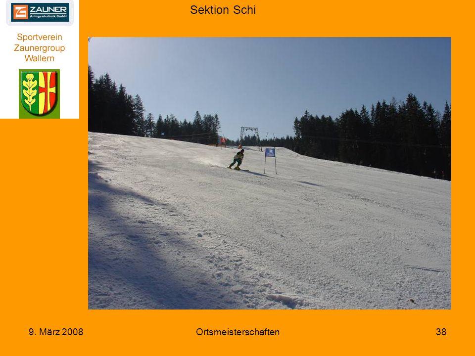 Sektion Schi 9. März 2008Ortsmeisterschaften38