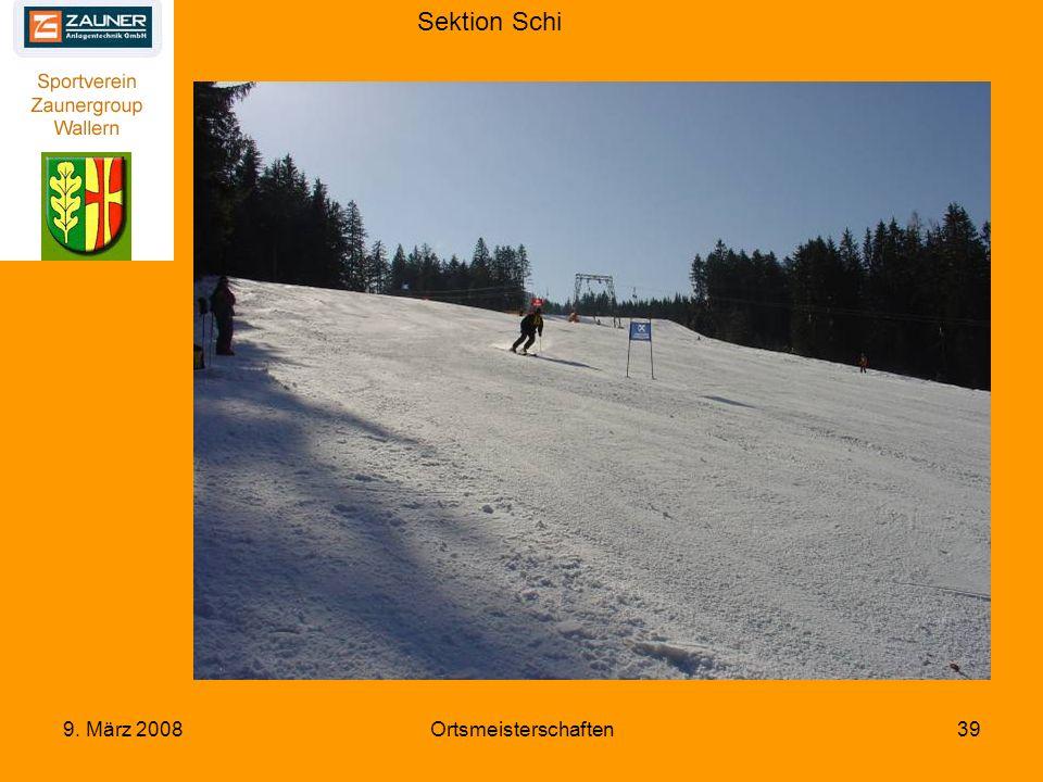 Sektion Schi 9. März 2008Ortsmeisterschaften39