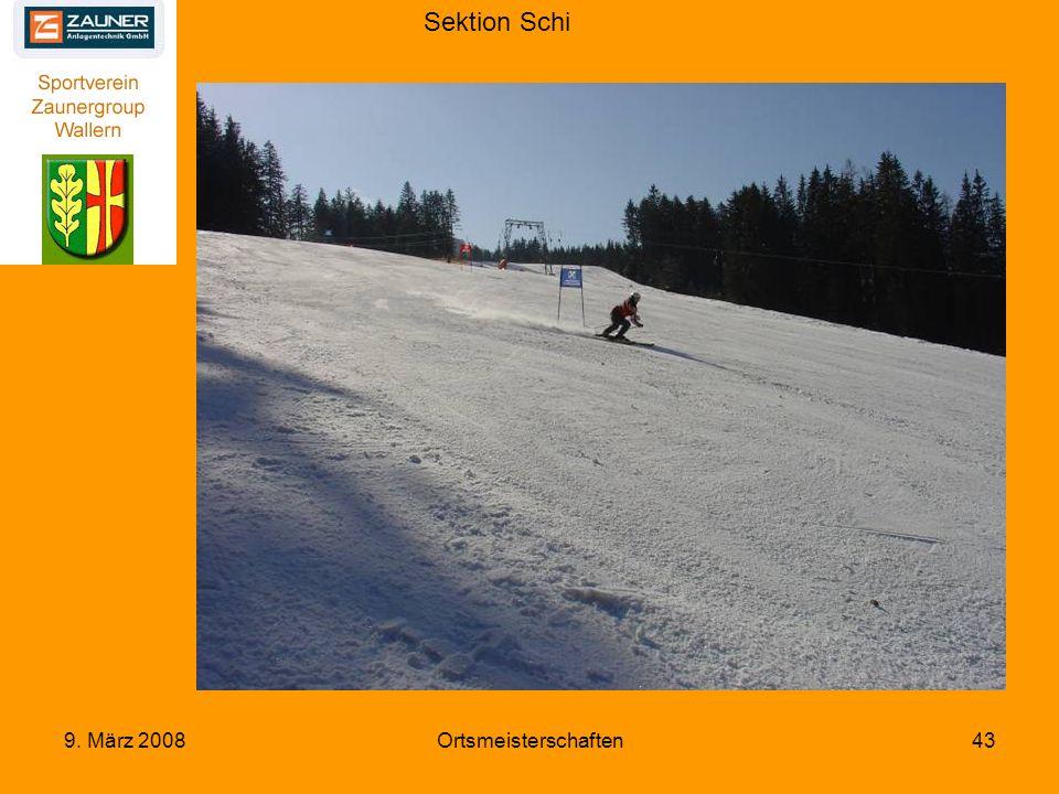 Sektion Schi 9. März 2008Ortsmeisterschaften43