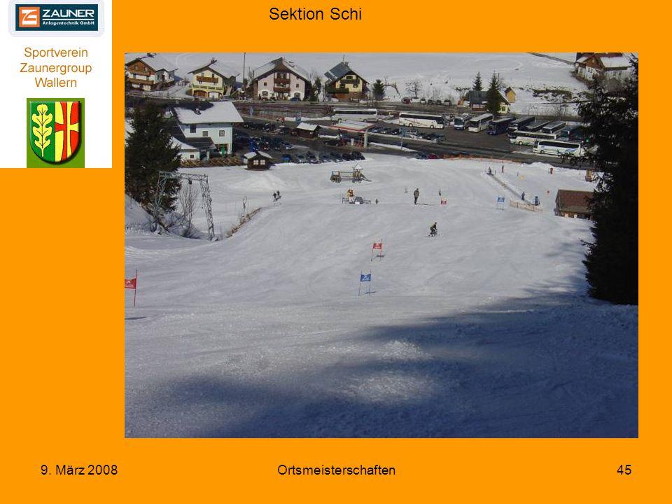 Sektion Schi 9. März 2008Ortsmeisterschaften45
