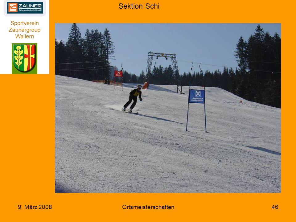Sektion Schi 9. März 2008Ortsmeisterschaften46