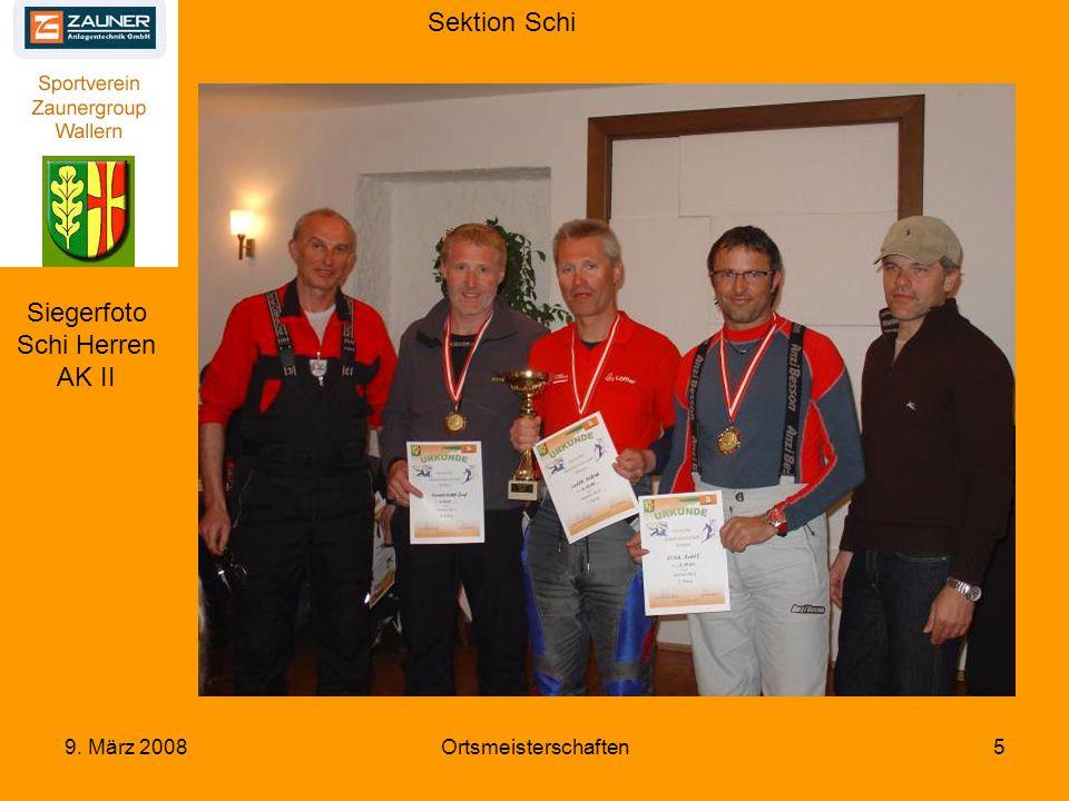 Sektion Schi 9. März 2008Ortsmeisterschaften26
