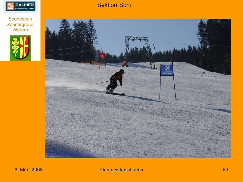 Sektion Schi 9. März 2008Ortsmeisterschaften51