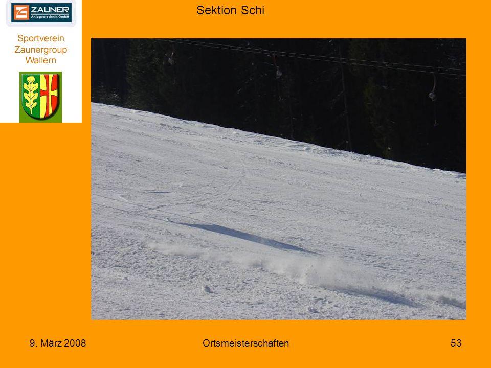 Sektion Schi 9. März 2008Ortsmeisterschaften53