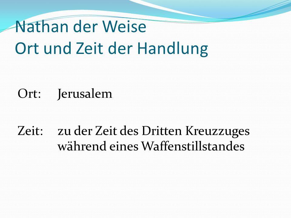 Nathan der Weise Interpretation Ringparabel Drei Ringe Ringe sind identisch Vater symbolisiert Gott Judentum, Islam, Christentum alle Religionen sind gleichwertig durch Duplikationsauftrag Religionen gottgewollt bzw.