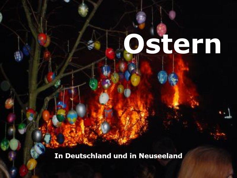 Ostern In Deutschland und in Neuseeland