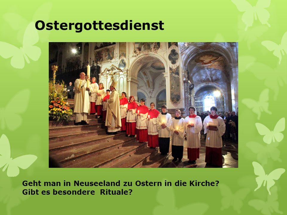 Ein Osterkranz In Deutschland gibt es viele spezielle Gerichte, z.B. Osterkranz. Und in Neuseeland?
