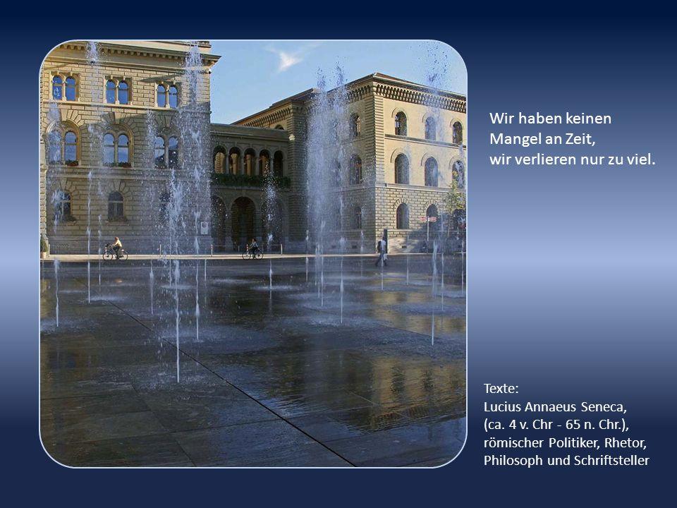 Der Bundesplatz wurde nach einer Neugestaltung am 31.