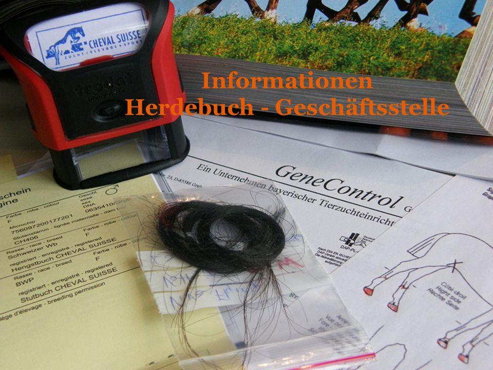 Informationen Herdebuch - Geschäftsstelle