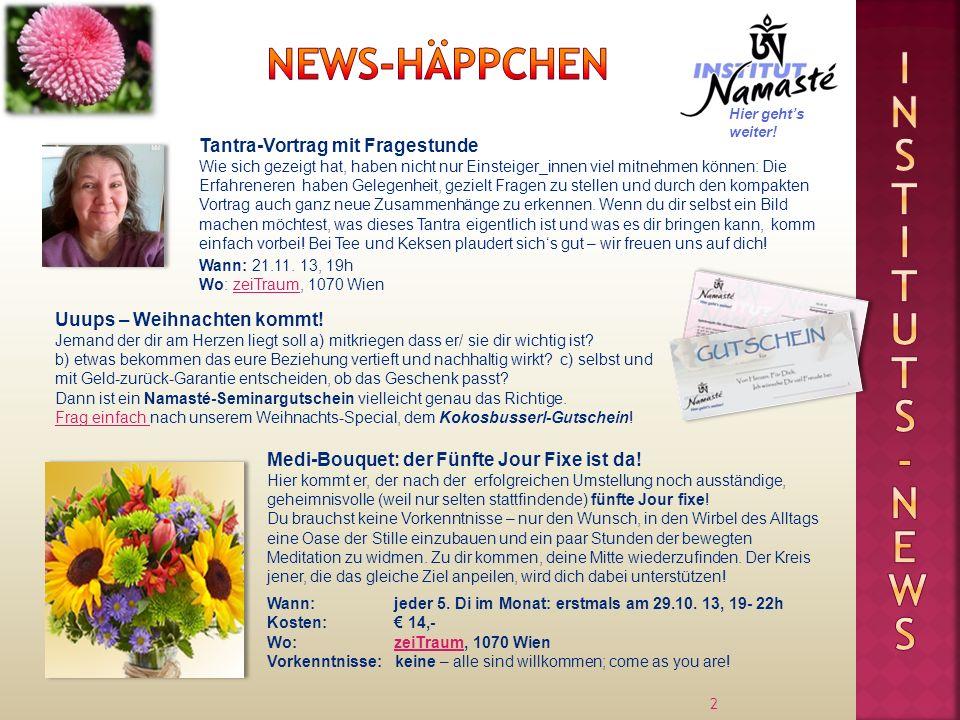 13 Ale Schratt Dr.Amrit Fuchs Körperarbeit, Einzelberatung Institutsleitung Nick Federmann Mag.