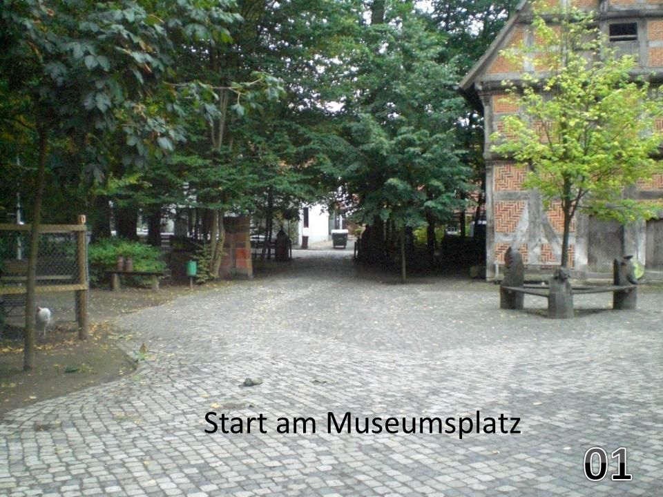 Start am Museumsplatz