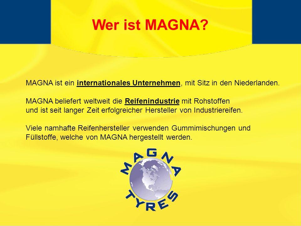 MAGNA ist ein internationales Unternehmen, mit Sitz in den Niederlanden.