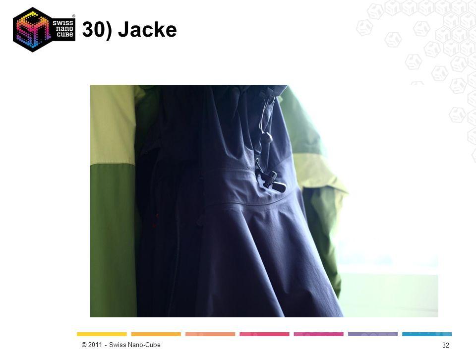 © 2011 - Swiss Nano-Cube 30) Jacke 32