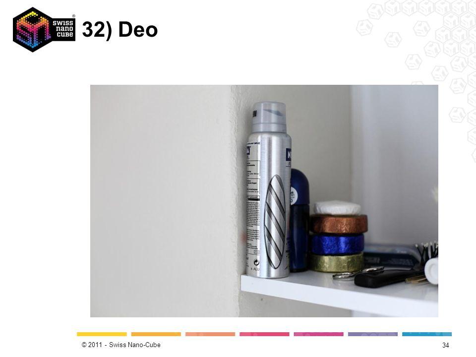 © 2011 - Swiss Nano-Cube 32) Deo 34
