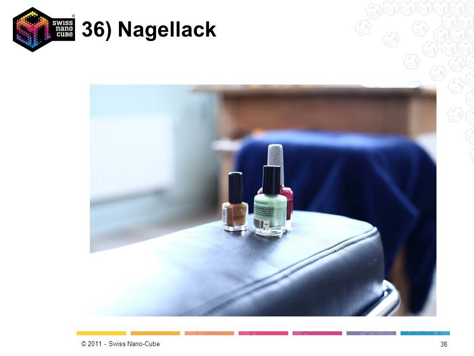 © 2011 - Swiss Nano-Cube 36) Nagellack 38