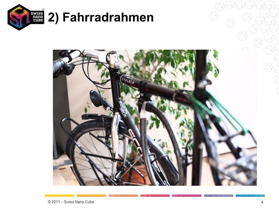 © 2011 - Swiss Nano-Cube 2) Fahrradrahmen 4
