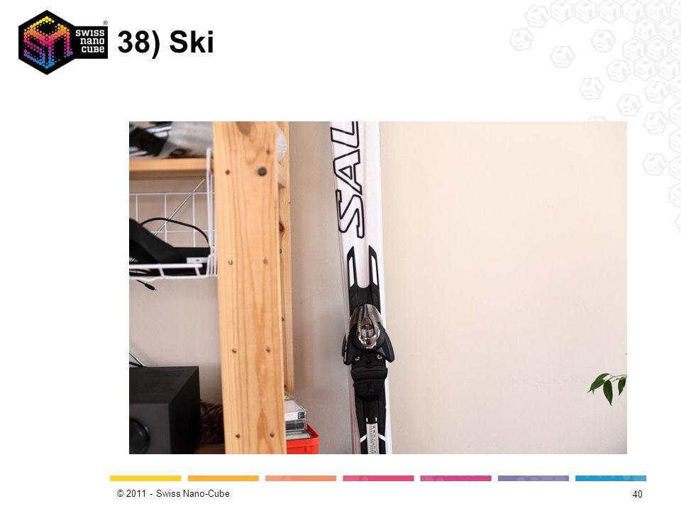 © 2011 - Swiss Nano-Cube 38) Ski 40