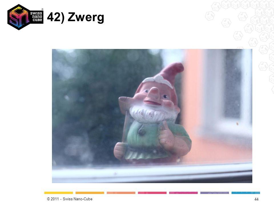 © 2011 - Swiss Nano-Cube 42) Zwerg 44