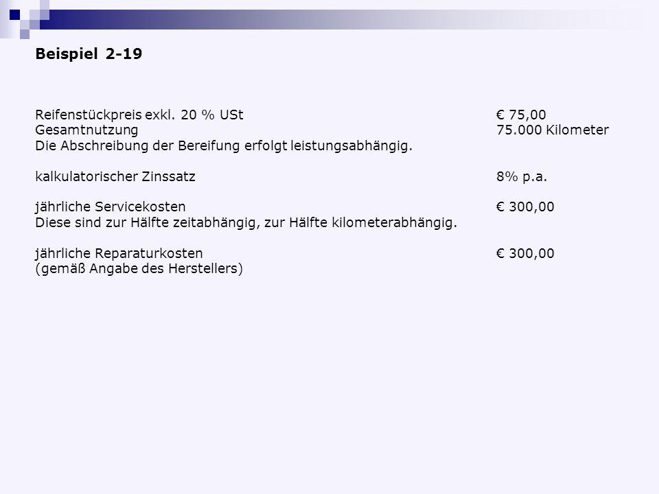 Reifenstückpreis exkl.