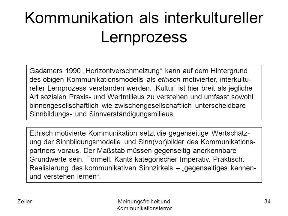 ZellerMeinungsfreiheit und Kommunikationsterror 35 Kommunikationsmodell als Analyseinstrument Wie die Gricesche Kommunikationslogik zeigt, besteht zwischenmensch- liche Kommunikation nicht nur in der Sendung (Zeichenkonstruktion: Codierung), Mediierung (Zeichenäußerung), Empfang (Zeichenerken- nung) und Bearbeitung (Zeichenrekonstruktion: Decodierung) von Information.