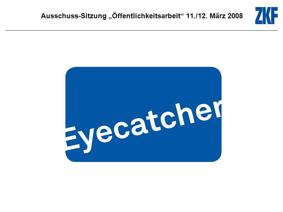 Ausschuss-Sitzung Öffentlichkeitsarbeit 11./12. März 2008