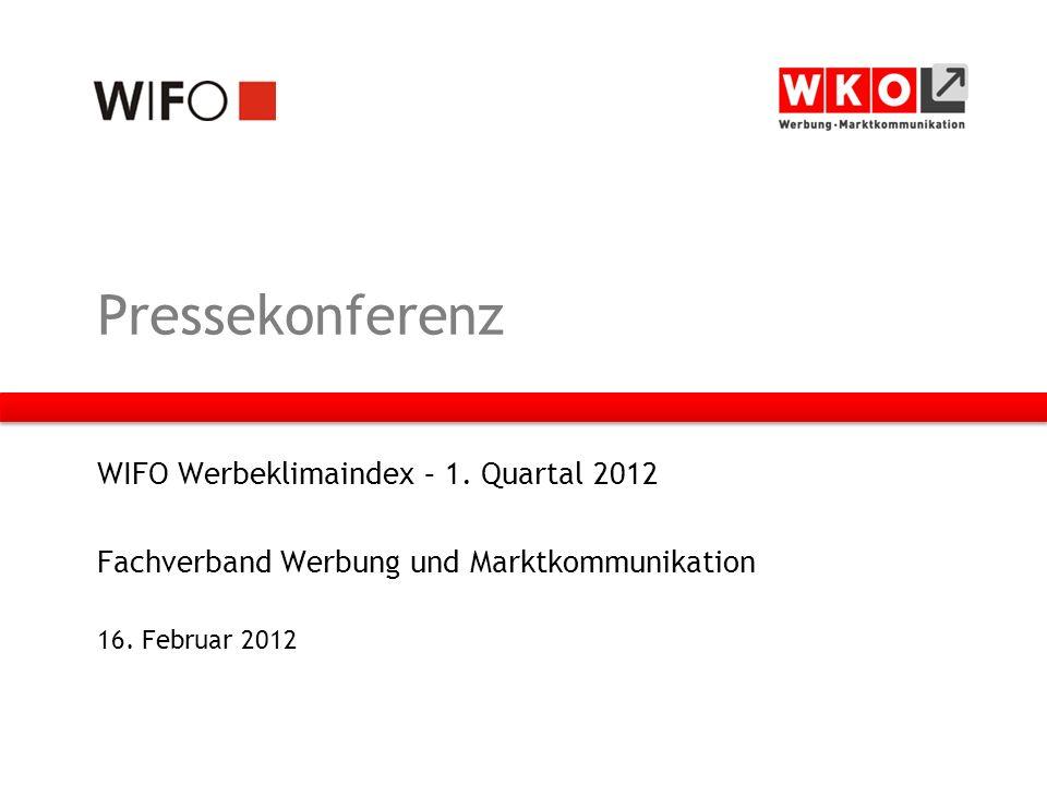 Pressekonferenz WIFO Werbeklimaindex – 1.