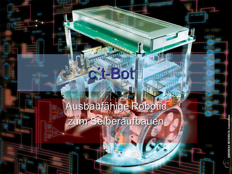 c´t-Bot Ausbaufähige Robotic zum Selberaufbauen