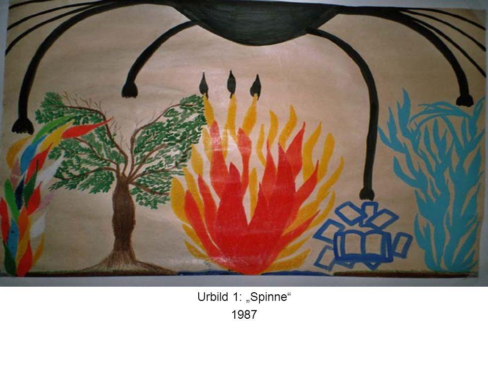 Urbild 1: Spinne 1987