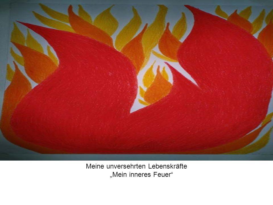 Meine unversehrten Lebenskräfte Mein inneres Feuer