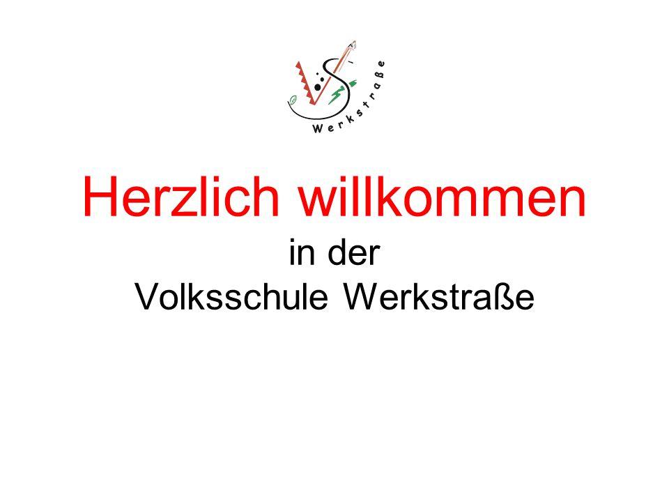 Herzlich willkommen in der Volksschule Werkstraße