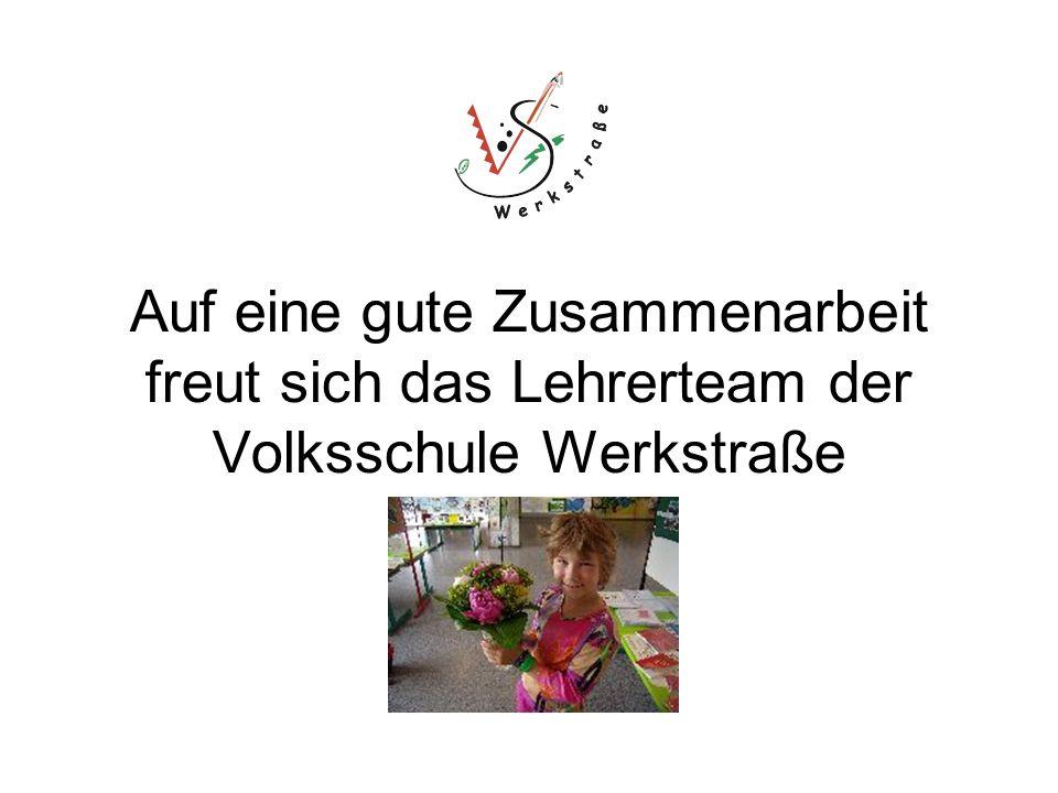 Auf eine gute Zusammenarbeit freut sich das Lehrerteam der Volksschule Werkstraße