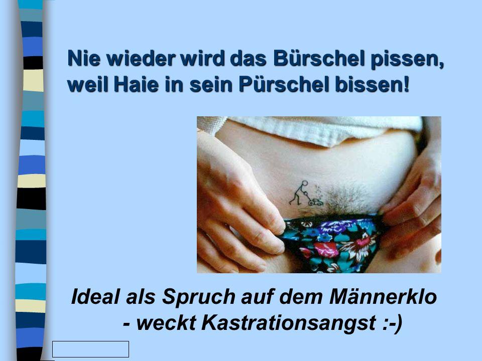 www.FunFriends.de Warum sind Frauen eher hübsch als intelligent? Weil Männer besser sehen als denken können. Ich wünschte, sie wären Hirne