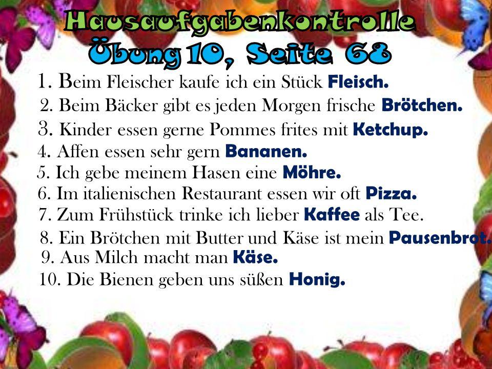 Lebensmittel Obst Gemüse
