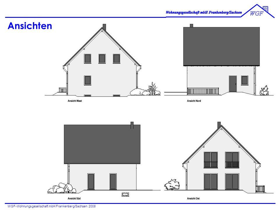 WGF-Wohnungsgesellschaft mbH Frankenberg/Sachsen 2008 Ansichten