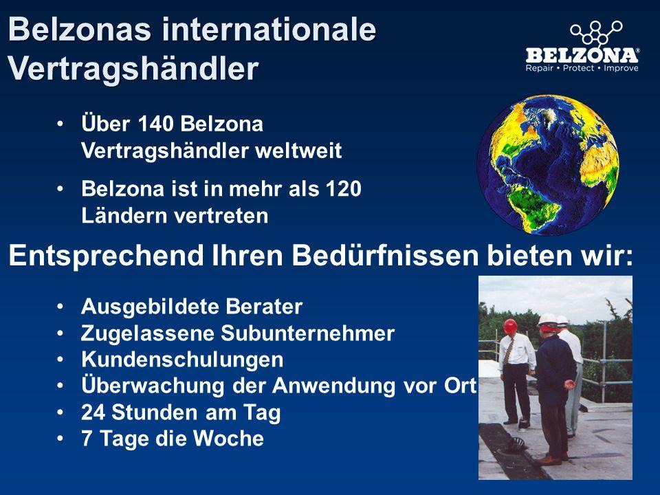 Belzonas Produktpalette Belzona 1000er Serie Metallpolymere Belzona 4000er Serie Magmapolymere Belzona 2000er Serie Elastomere Belzona 5000er Serie Schutzsysteme Belzona 3000er Serie Polymermembranen Belzona 8000er Serie Wartungssysteme