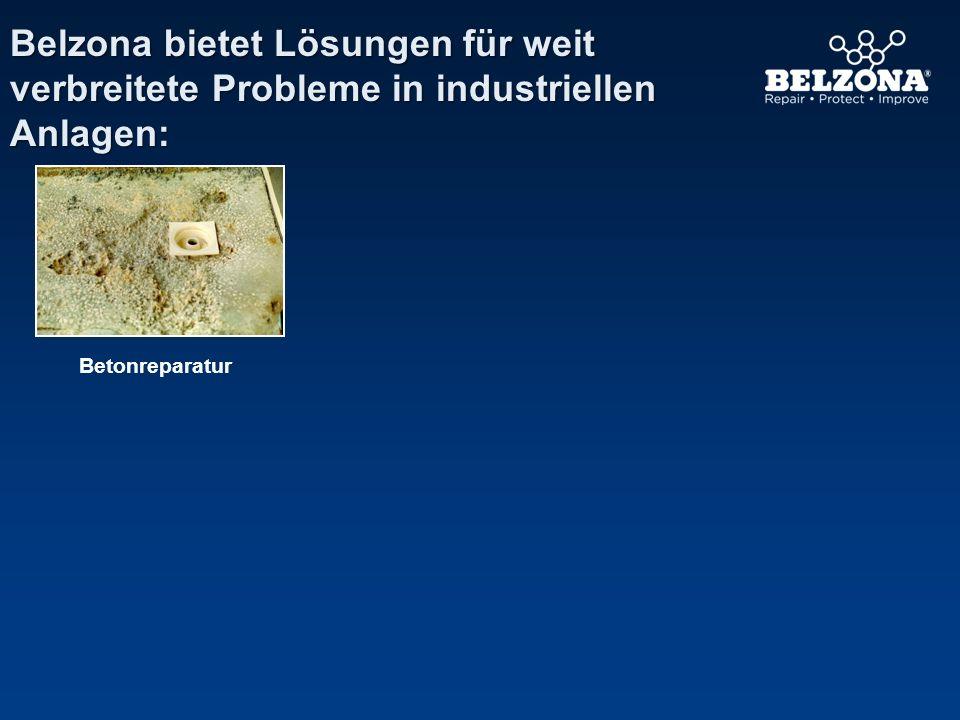 Unternehmen Problem Anwendungsdetails Belzona repariert angegriffene Kanäle Chemiewerk, Frankreich Ein Betonkanal war von einem Gemisch aus Chemikalien angegriffen worden, das in die Umwelt entwich.